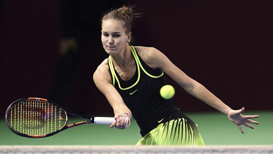 Российская теннисистка Кудерметова вышла в полуфинал турнира в Чарльстоне