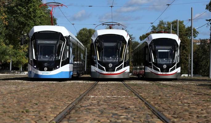 На улицу Шаболовка вернулись трамваи