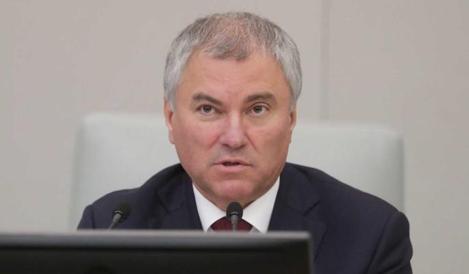 Володин предложил россиянам выбрать метод борьбы с нарушителями ПДД