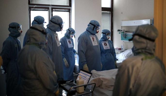 Суточный прирост заразившихся коронавирусом в России составил 9,7 тысячи