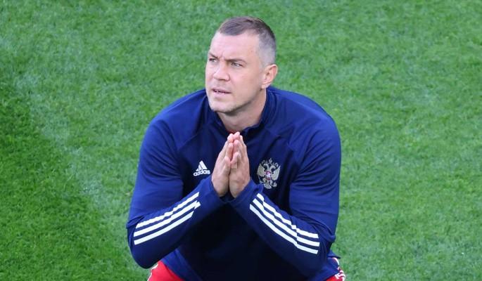 Дзюба резко ответил журналисту после поражения сборной России от Дании