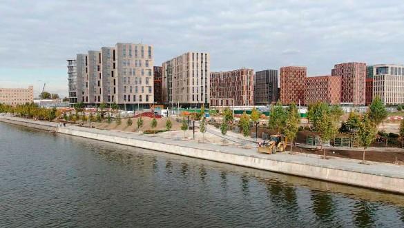 В Москве реконструируют еще 120 километров набережных
