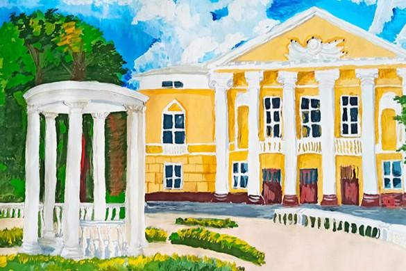 В Москве наградили победителей конкурса детского рисунка 'Наследие моего района'