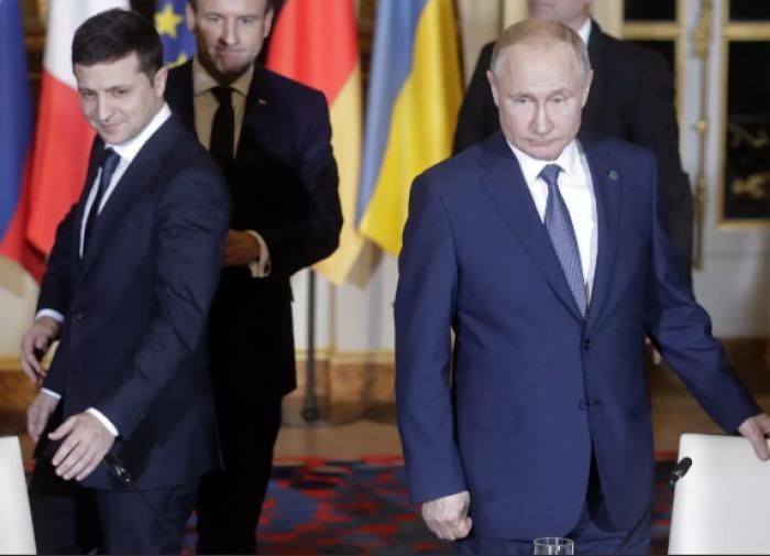 Глава МИД Украины назвал встречу Зеленского и Путина 'родами'