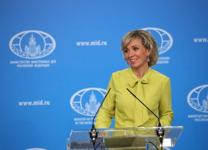 Захарова подтвердила готовность наращивать взаимодействие с Турцией