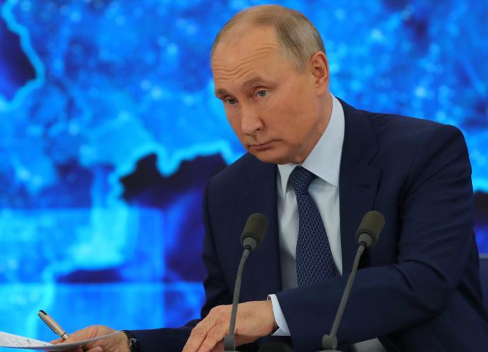Путин назвал возвращение Крыма результатом внутреннего укрепления РФ