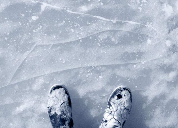 Двое детей погибли, провалившись под лёд на Волге