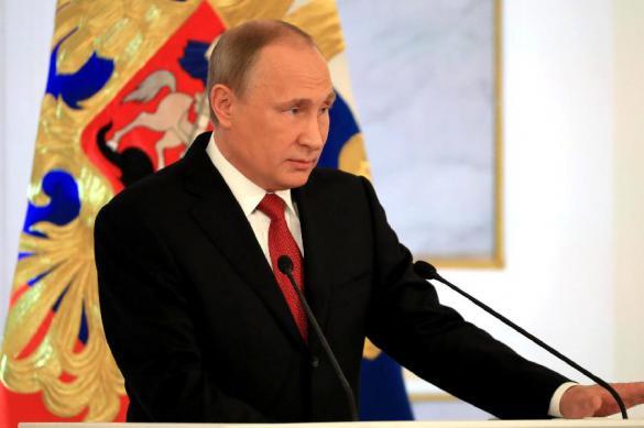 Для выступления Путина с посланием Федеральному собранию выбран 'Манеж'