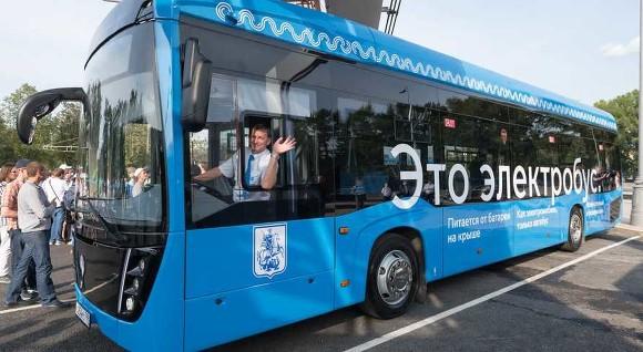 В Москве выросло число маршрутов электробусов
