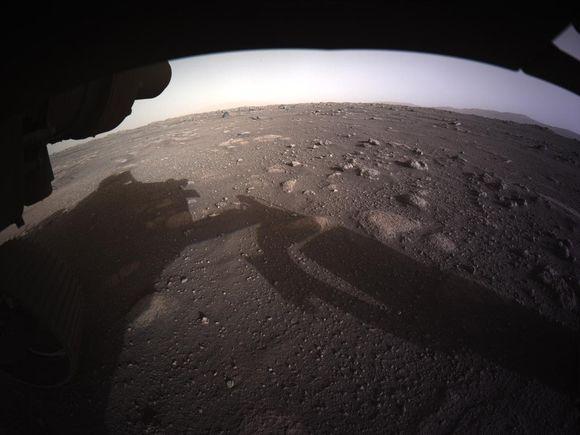 В NASA объяснили появление «радуги» на Марсе