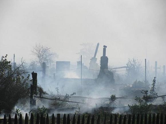 В одном из районов Воронежской области введен режим ЧС после уничтожения 8 домов огнем