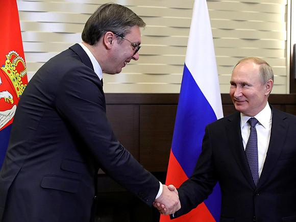 Сербия отказалась вводить санкции против России: У нас отличные отношения