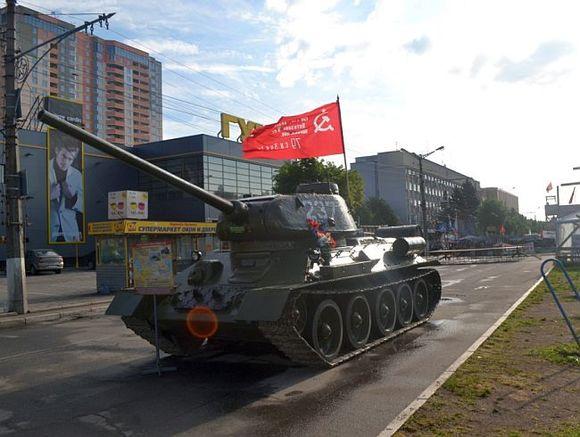 В Латвии могут начать демонтаж советской военной техники, которая используется в качестве памятников