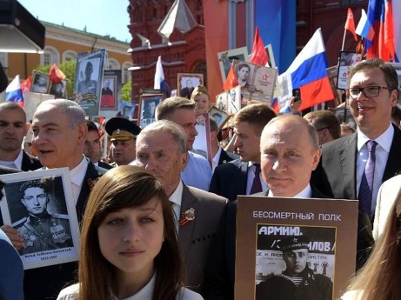 Песков: «Бессмертный полк» состоится после полной вакцинации россиян от ковида