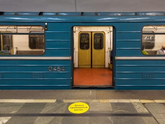 На «синей» линии метро произошел сбой из-за инцидента с пассажиром