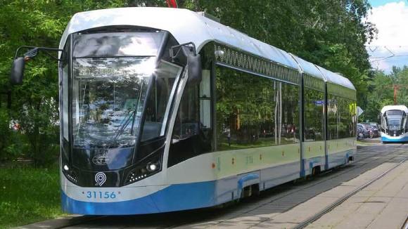 Авария с пострадавшим на юго-востоке Москвы блокировала движение трамваев