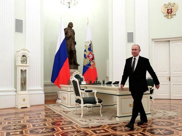Третий десяток у власти: 26 марта 2000 года Путин впервые был избран президентом России