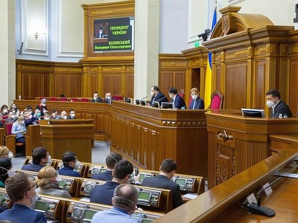 Фракция Зеленского в украинской Раде поддержит призыв о признании режима Лукашенко «угрозой миру»