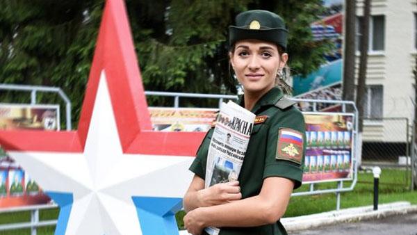 Определена самая красивая девушка в российской армии