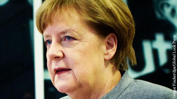 Меркель отменила запись на прививку AstraZeneca