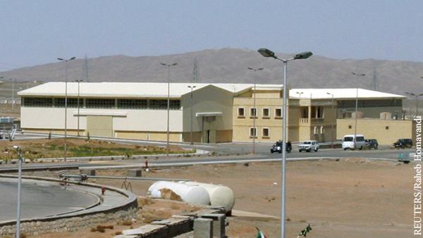 Иран установил личность причастного к атаке на ядерный объект в Натанзе