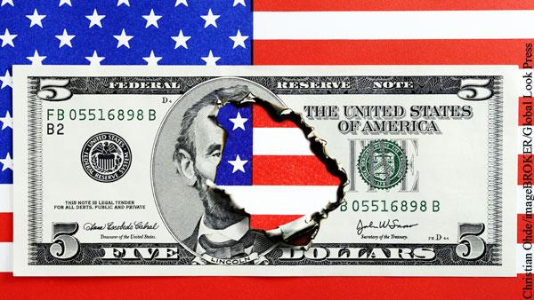 Дефицит бюджета США за полугодие оказался рекордным