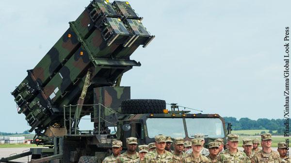 Киев потребовал от США разместить ЗРК Patriot на Украине