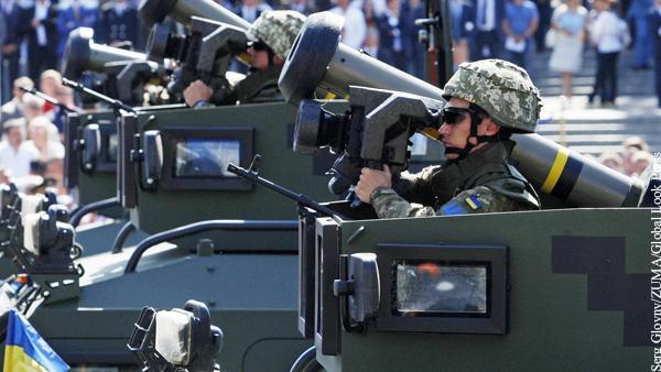 США пообещали Украине оружие «для защиты от российской агрессии»