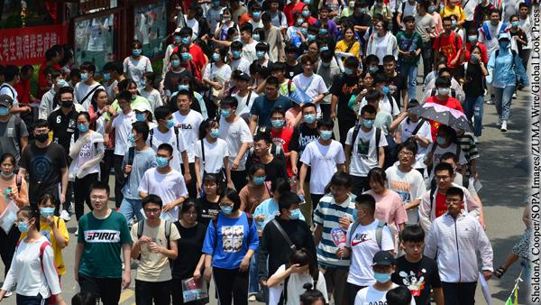 Численность населения Китая в 2020 году выросла на фоне пандемии