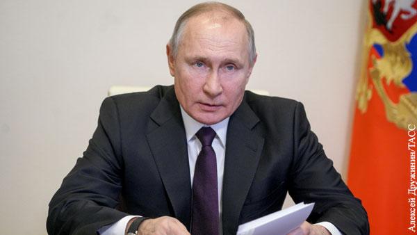 Путин объяснил «моду на оголтелых НКВД-шников» в кино