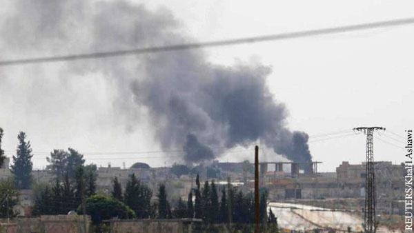 Взрыв прогремел у турецкой военной базы в Сирии