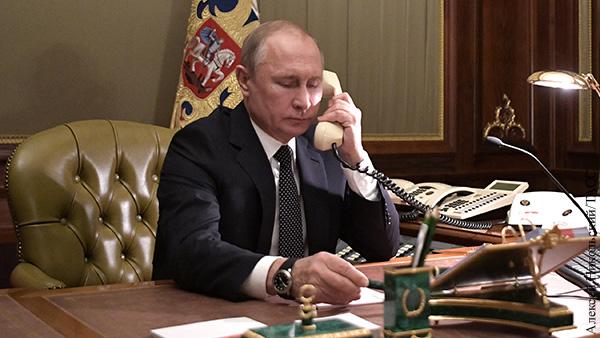 Путин обратил внимание Меркель на провокации Киева в Донбассе