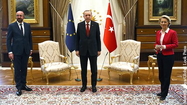 Политика: Эрдоган унизил Евросоюз по личным причинам