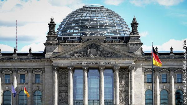 В Бундестаге обвинили власти Германии в подготовке к войне с Россией