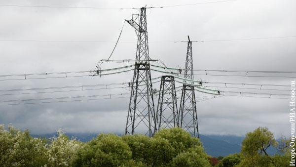 Украина решила запретить импорт электроэнергии из России и Белоруссии до октября