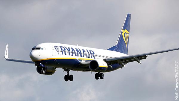 В Литве начали расследование инцидента с посадкой самолета Ryanair в Минске