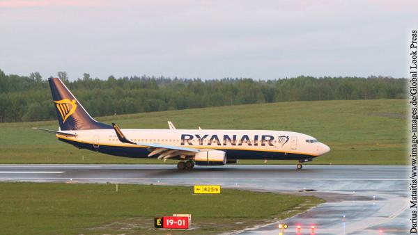 ИКАО начала расследование экстренной посадки борта Ryanair в Минске