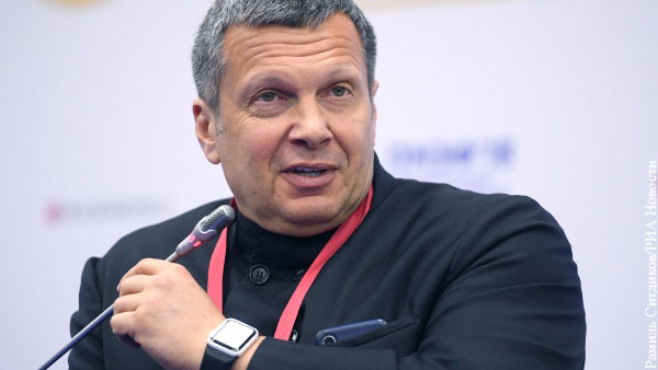 Соловьев в связи с бегством Гудкова на Украину напомнил о судьбе экс-депутата Вороненкова