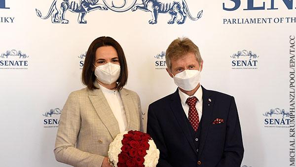 В Чехии приняли Тихановскую как президента Белоруссии
