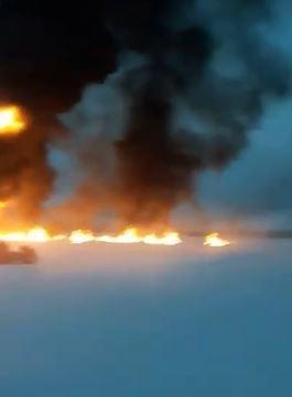 Следственный комитет начал проверку по аварии на трубопроводе «Сибура» на реке Обь
