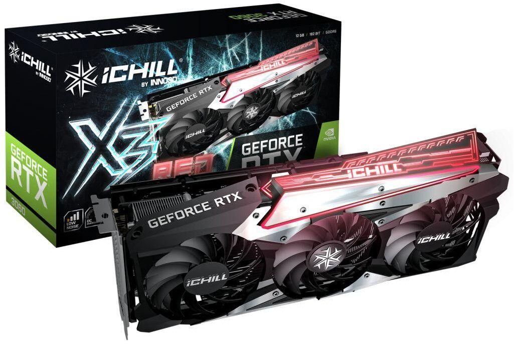 Модельный ряд видеокарт GeForce RTX 3060 от Inno3D