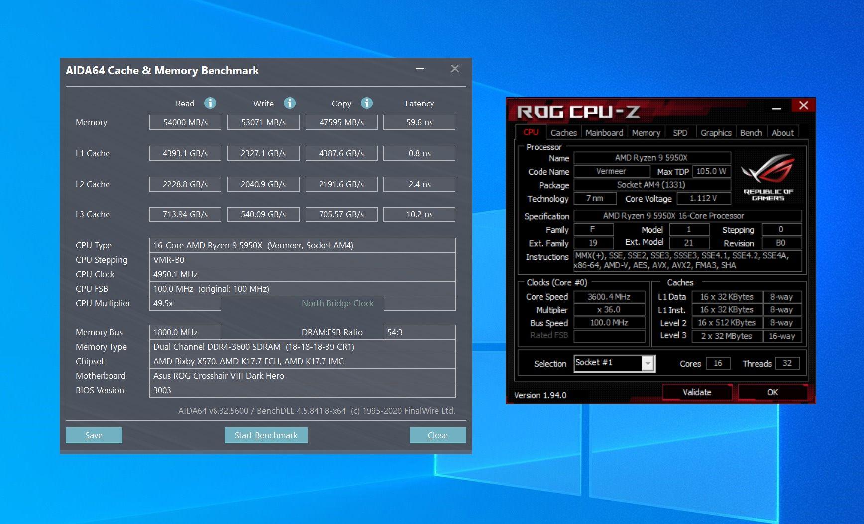 Обзор процессора AMD Ryzen 9 5950X