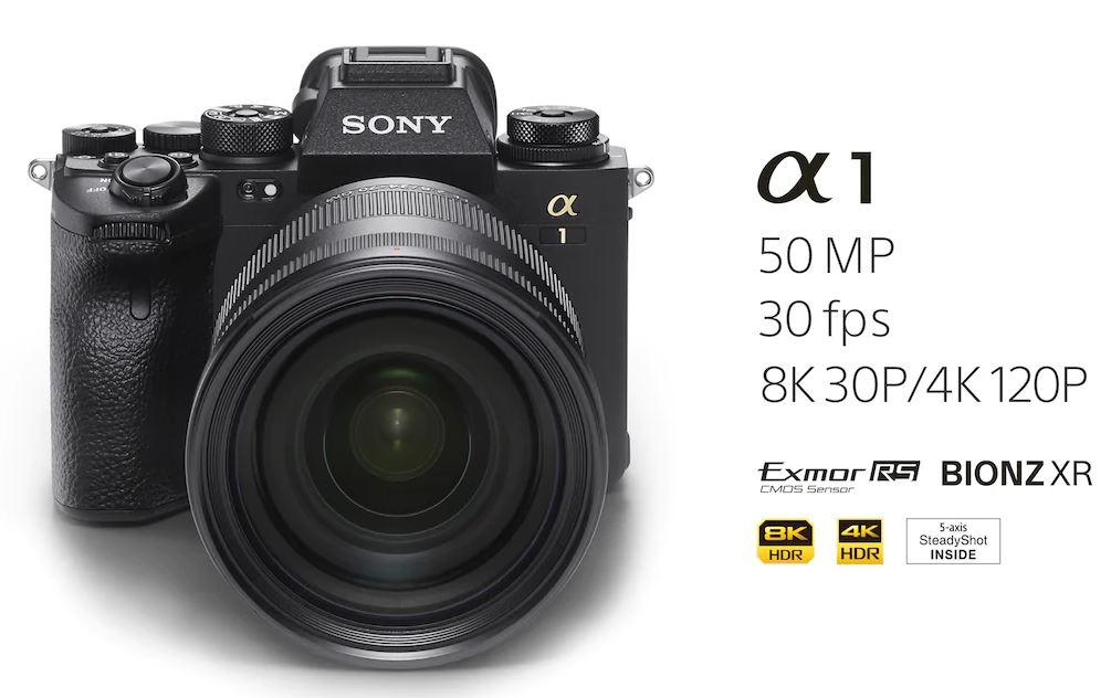Полнокадровую камеру Sony Alpha 1 оценили в полмиллиона рублей (открыт предзаказ)