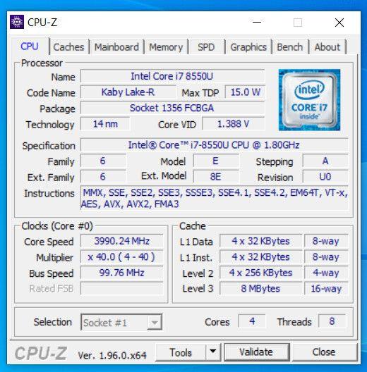 Свежая версия CPU-Z распознаёт процессоры Intel Alder Lake и AMD Ryzen 5000G