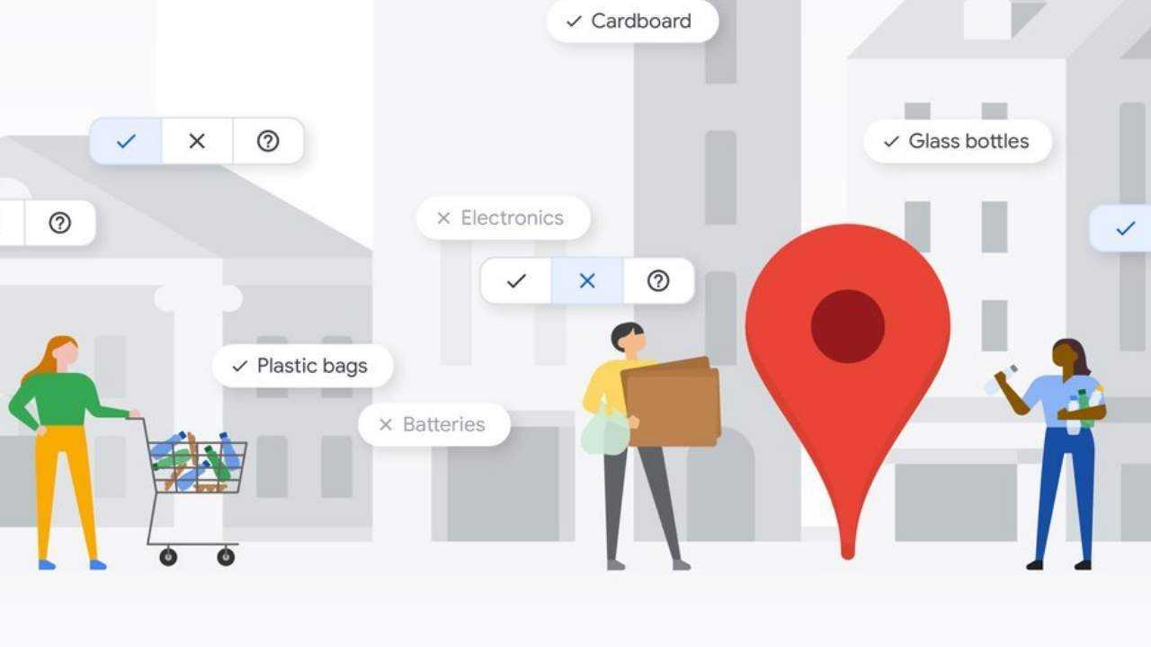 Карты Google могут отображать экологически чистые места и предприятия