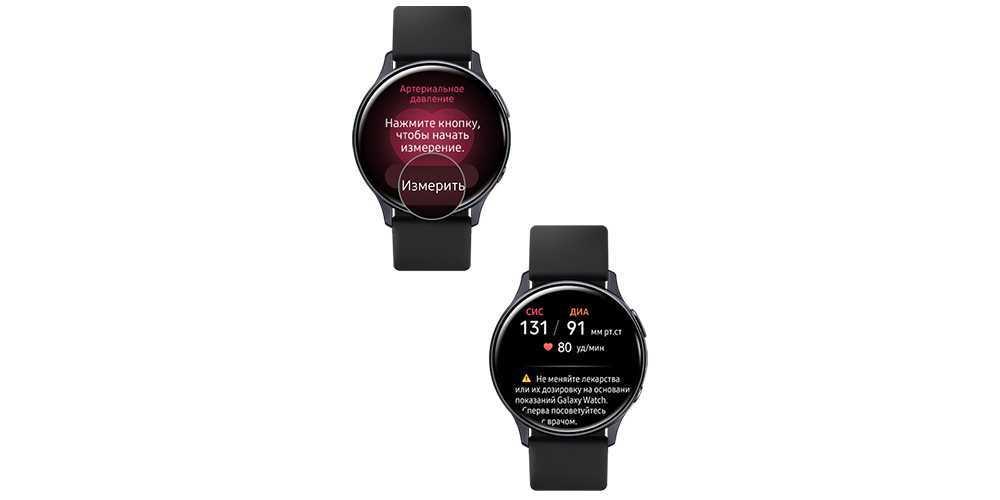 Функции измерения артериального давления и ЭКГ на Galaxy Watch3 и Galaxy Watch Active2 стали доступны в России