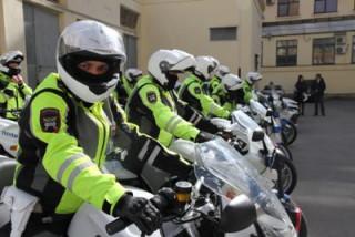 Полицейский мототранспорт готов к выполнению задач