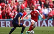Украина поддержала игрока сборной Дании Эриксена
