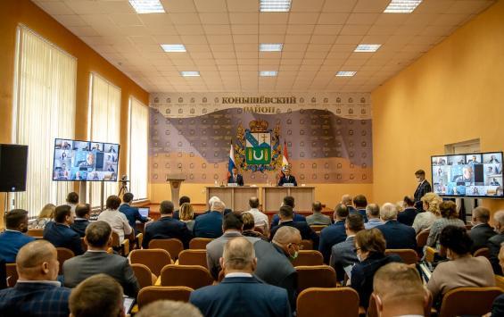 Губернатор Курской области Роман Старовойт посетил Конышевский район