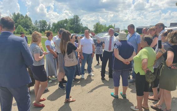 Депутат ГосДумы Алексей Журавлев выступил в защиту курских лесов